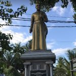 Fr. Thaninayagam Statue