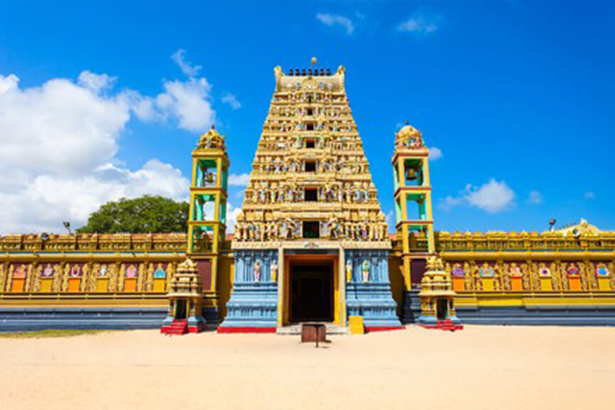 Vallipuram Alvar Vishnu Kovil - Attractions in Sri lanka