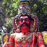 God Muneeswaran Temple
