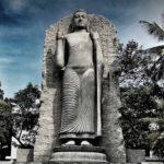 Replica of Aukana Buddha Statue